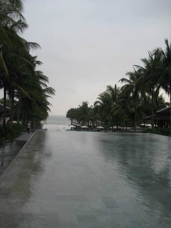 Four Seasons Resort The Nam Hai, Hoi An:                                     Largest Infinity Pool