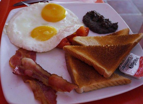 Java:                   Full Breakfast
