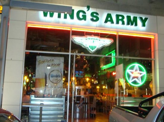 Wing's Army:                   Entrance 1