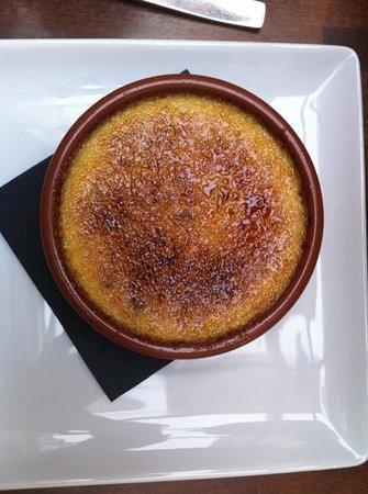 Le Square de Marcadet : crème brûlée