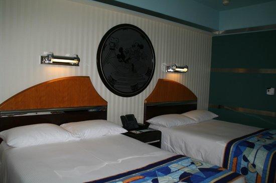 Disney's Hollywood Hotel:                   部屋