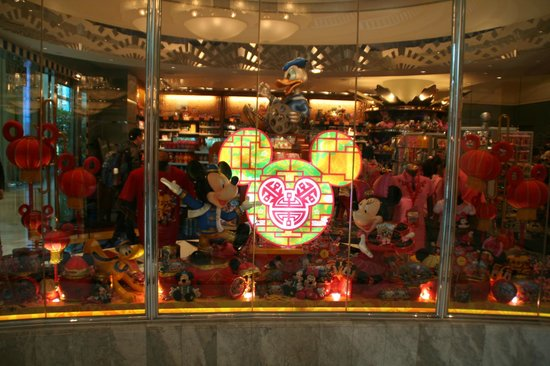 Disney's Hollywood Hotel:                   ショップ