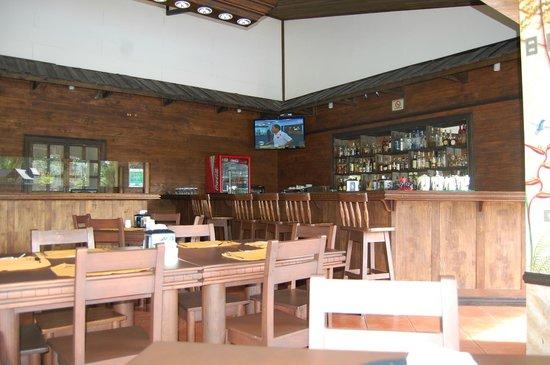 فولكانو لودج آند سبرينجس: Restaurant