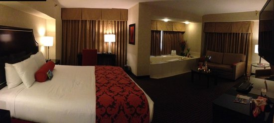 Silver Legacy Resort and Casino:                                     Deluxe Spa Suite Room #1482