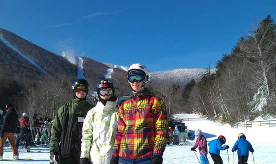 Sugarbush Mountain Ski Resort:                   A great day on the slopes!