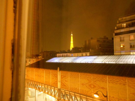 Hotel Grenelle:                   room with a view