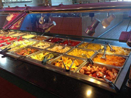 Royal Buffet:                                                                         Fruit desert bar