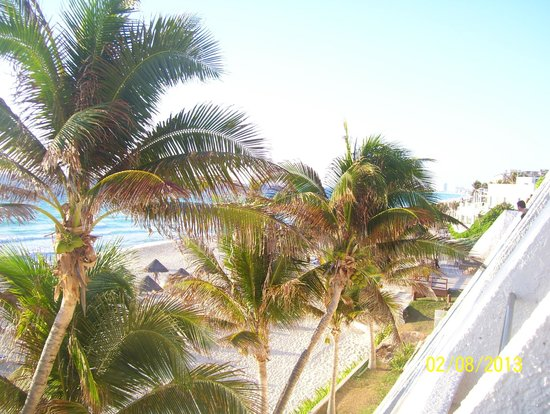 Grand Oasis Cancun:                   Vista desde habitación