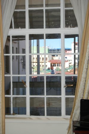 Gran Hotel Costa Rica: Our Bedroom Window