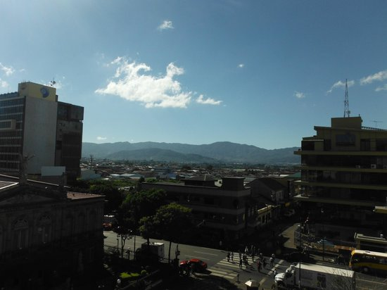 Gran Hotel Costa Rica: View from breakfast terrace