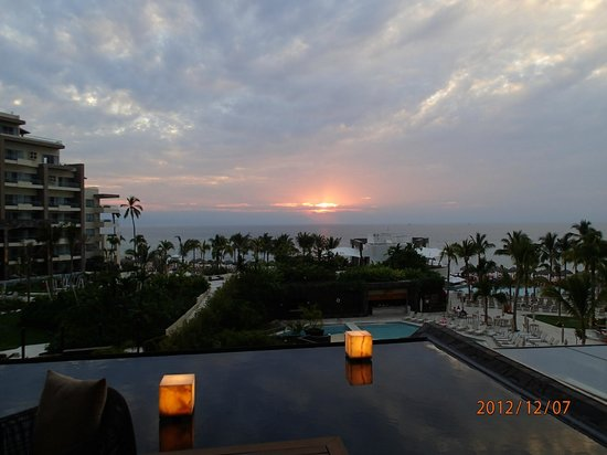 Now Amber Puerto Vallarta:                   Our view