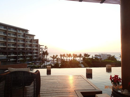 Now Amber Puerto Vallarta:                   The view from the lobby