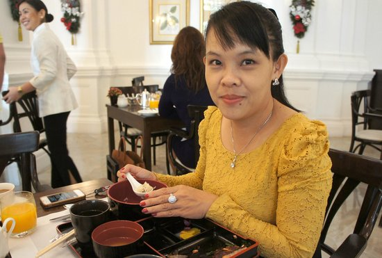 Raffles Hotel Singapore: Japanese breakfast