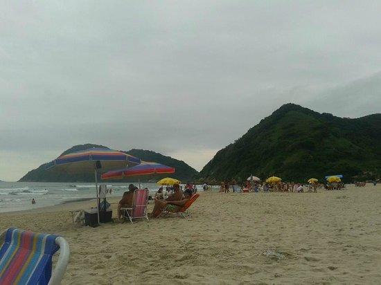 Tombo beach:                   Vista da praia