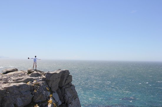 "The Cape Town Tour Guide Co.:                   Clive - ""sky diving"""