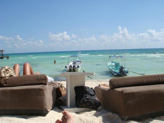 El Taj Oceanfront & Beachside Condos Hotel:                   Beach