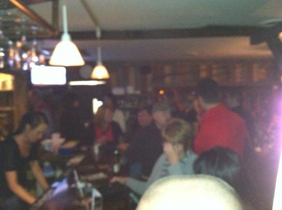 The Shanty : happy crowd