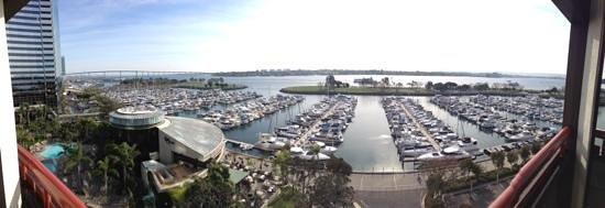 Marriott Marquis San Diego Marina: view of marina