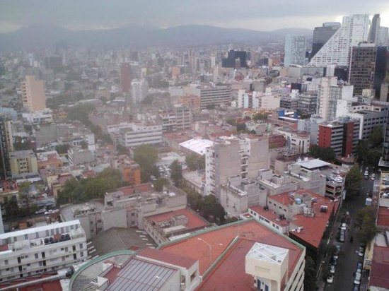 Fiesta Americana Reforma: view from room