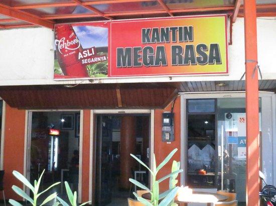 Kantin Mega Rasa:                   Shop Front