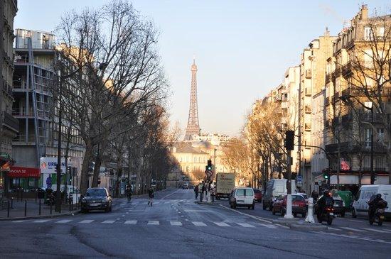 Exterior picture of best western hotel le montparnasse for Ideal hotel montparnasse