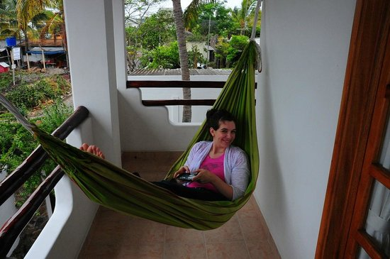 Hotel Galapagos Suites:                   My daughter loved the hammock