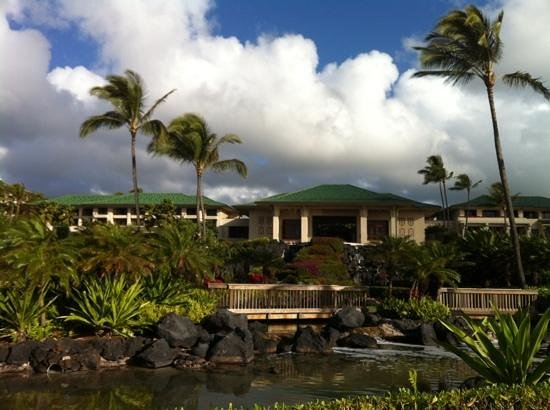 Grand Hyatt Kauai Resort & Spa:                   The resort centre