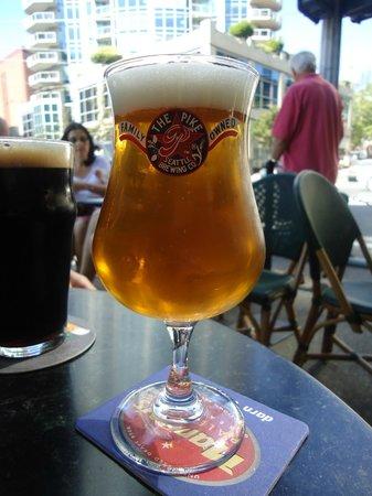 Virginia Inn:                   Monk's Uncle Tripel - Pike Brewing Company