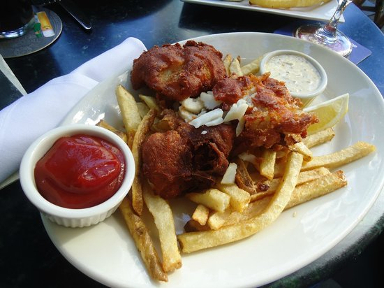 Virginia Inn:                   The Amazing Fish & Chips