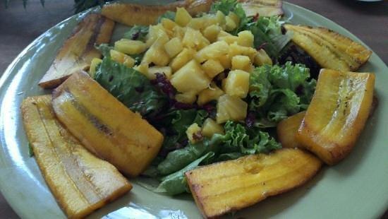 Organico:                   ensalada tropical
