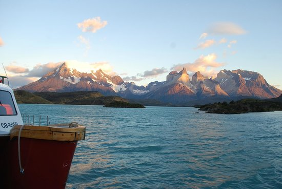 Explora Patagonia - All Inclusive:                   View of Torres del Paine Massif from Hotel Explora