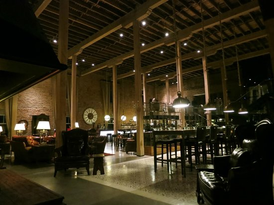 The Singular Patagonia:                   Dining Room/Bar at the Singular hotel, Patagonia