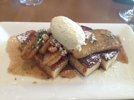 Hotel Yountville: Stylish french toast