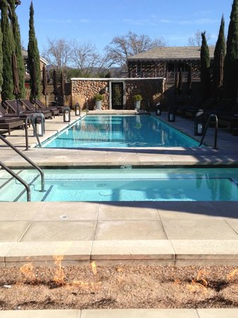 Hotel Yountville: Nice pool