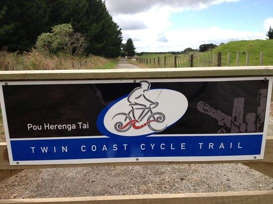 Twin Coast Cycle Trail Northland:                   Twin Coast Cycle Trail