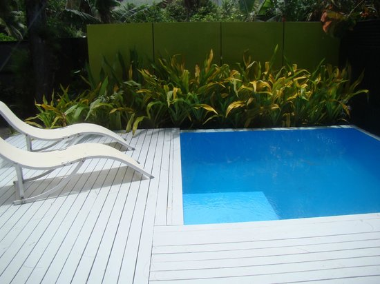 Kakera Villa Apartments:                   Plunge Pool