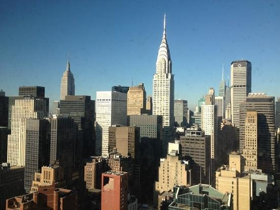 ONE UN New York:                   Amazing view from my room!