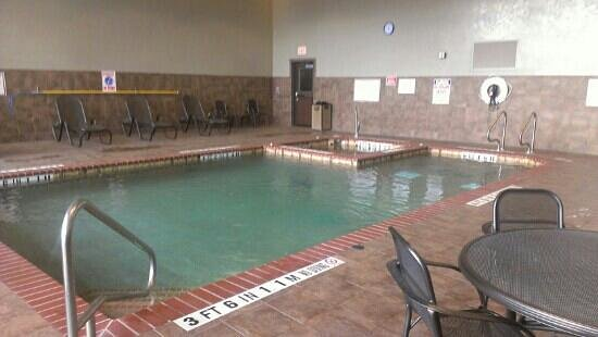 Drury Plaza Hotel Riverwalk:                   indoor pool