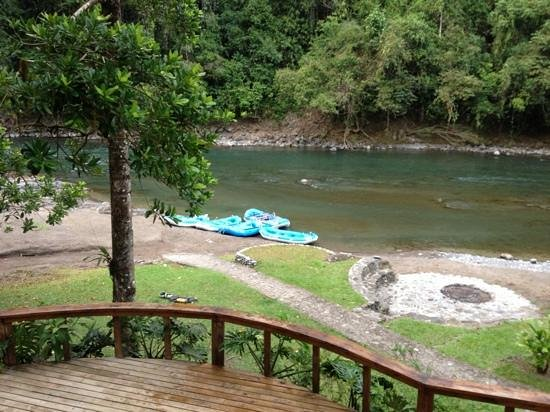 Pacuare Lodge: raft in and raft out
