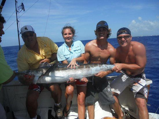 Marlin picture of slackem fishing charters george town for Grand cayman fishing