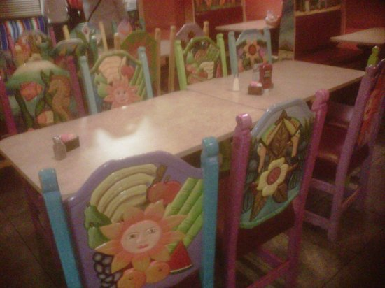 Cancun Mexican Restaurant: Dining Room Furniture