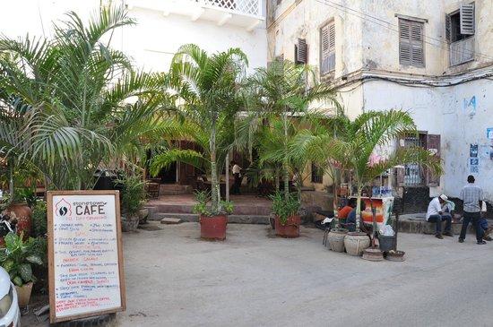 Stone Town Cafe external facade