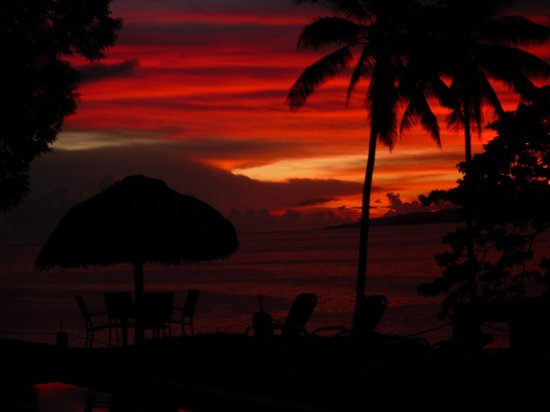 Nakia Resort & Dive:                                     beautiful sunsets every night!
