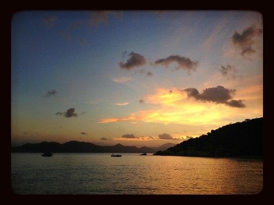 Six Senses Ninh Van Bay:                   sunset