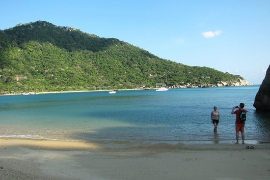 Six Senses Ninh Van Bay:                   beach view