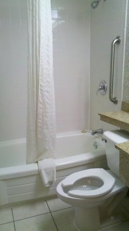 Quality inn Westfield:                                     First glance, it looks clean, right?  WRONG!