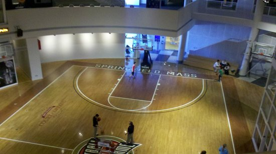 Basketball Hall of Fame:                   Shoot some hoops