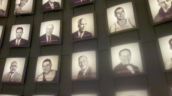 Basketball Hall of Fame:                   Hall of Famers