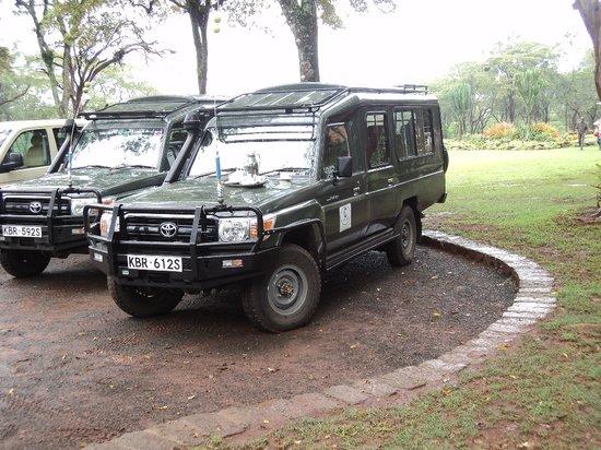 Cruzeiro Safaris - Malindi Day Tours: Four wheel drive vehicles