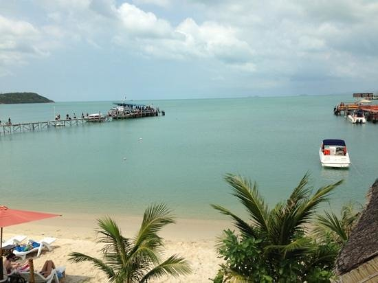 Samui Pier Resort:                   view from our room